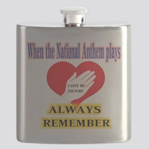 Hand Over Your Heart Flask