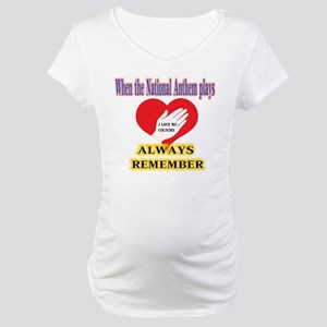 Hand Over Your Heart Maternity T-Shirt