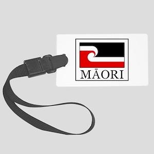 Maori Flag Large Luggage Tag