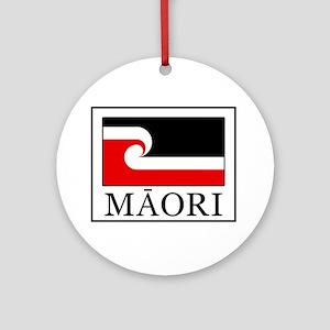 Maori Flag Round Ornament