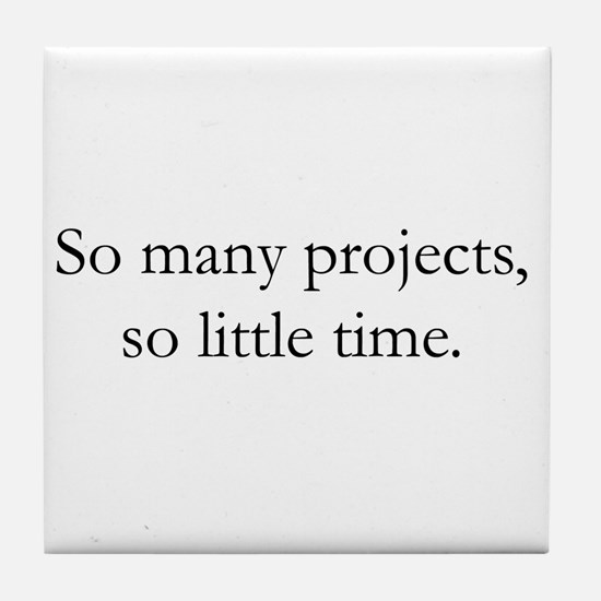 Cool Project manager Tile Coaster