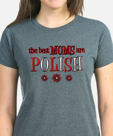 Polish Moms Women's Dark T-Shirt