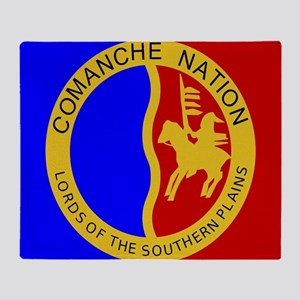 Comanche Nation Seal Throw Blanket