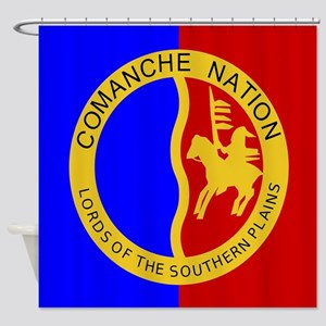 Comanche Nation Seal Shower Curtain