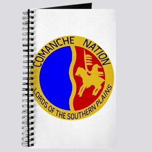 Comanche Nation Seal Journal