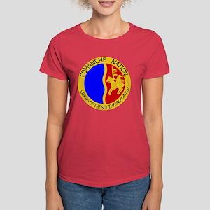 Comanche Nation Seal Women's Dark T-Shirt