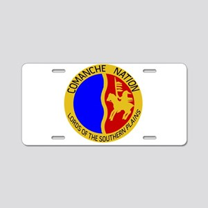 Comanche Nation Seal Aluminum License Plate