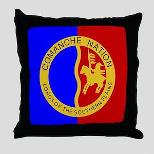 Comanche Nation Seal Throw Pillow