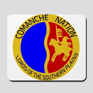Comanche Nation Seal Mousepad