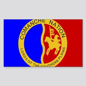 Comanche Nation Seal Sticker (Rectangle)