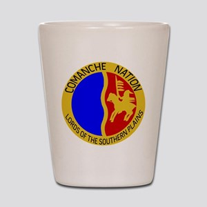 Comanche Nation Seal Shot Glass