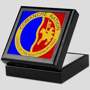 Comanche Nation Seal Keepsake Box