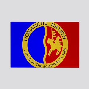 Comanche Nation Seal Rectangle Magnet