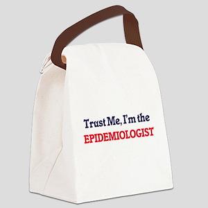 Trust me, I'm the Epidemiologist Canvas Lunch Bag
