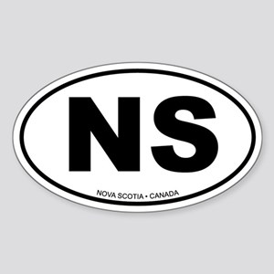 Nova Scotia Oval Sticker