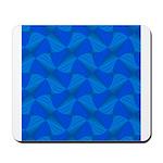 Blue Fractals Mousepad