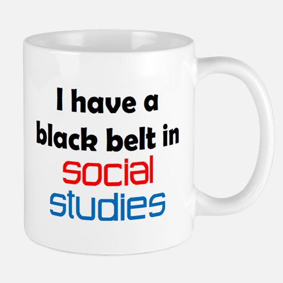 Social Studies Black Belt Mug