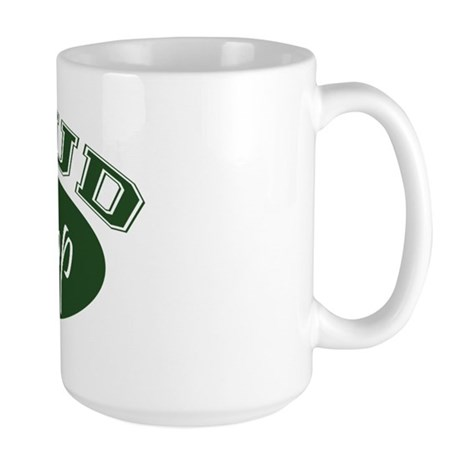 Proud PopPop (green) Large Mug