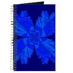 Blue Flower Fractal Journal