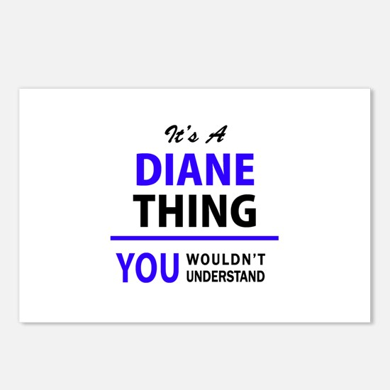 It's DIANE thing, you wou Postcards (Package of 8)