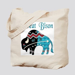 Great Bison #2 Tote Bag