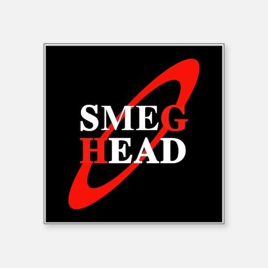 "Unique Smeg Square Sticker 3"" x 3"""