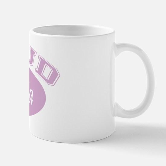 Proud YiaYia (pink) Mug