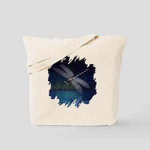 Dragonfly at Night Tote Bag