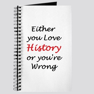love history or Journal