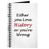 History Journals & Spiral Notebooks
