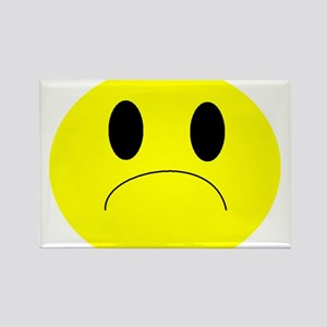 frown Rectangle Magnet