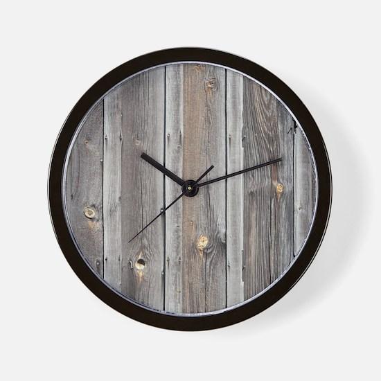 Wood Wall Clock