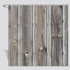 Wood Shower Curtains