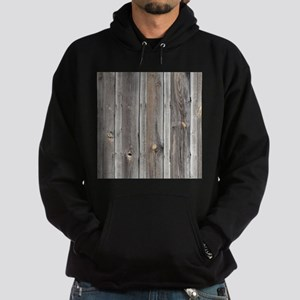 signed by the weather as old wood ba Hoodie (dark)