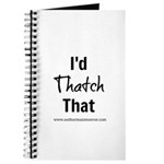 Thatch That Journal
