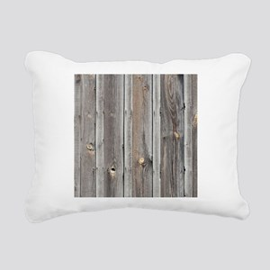 signed by the weather as Rectangular Canvas Pillow