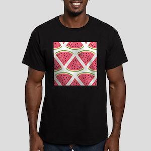 Watermelon Men's Fitted T-Shirt (dark)
