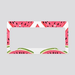 Watermelon License Plate Holder