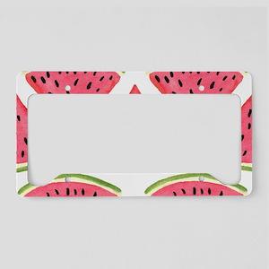 Watermelon License Plate Holder