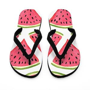 55e55b09cc0 Melon Flip Flops - CafePress