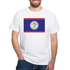 Belize White T-Shirt