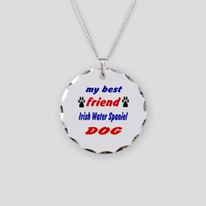My Best Friend Irish Water S Necklace Circle Charm