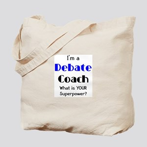 debate coach Tote Bag