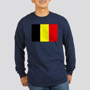 Belgium Long Sleeve Dark T-Shirt