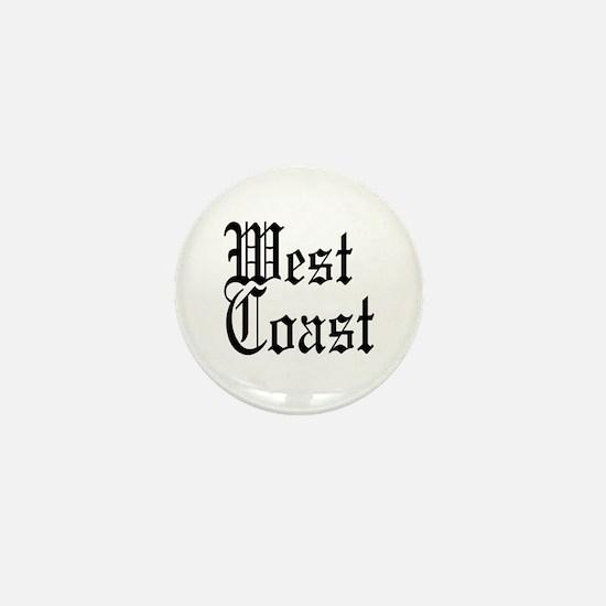 West Coast Mini Button