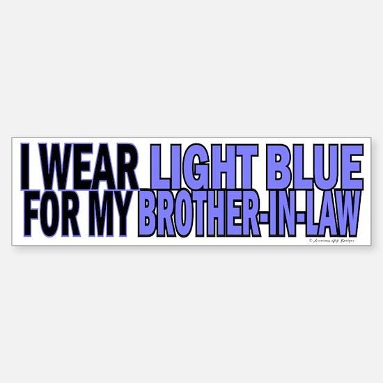 I Wear Light Blue For My Brother-In-Law 5 Bumper Bumper Sticker