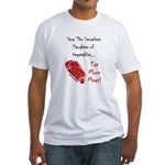Eat More Meat Fitted T-Shirt