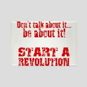 Start a Revolution Rectangle Magnet