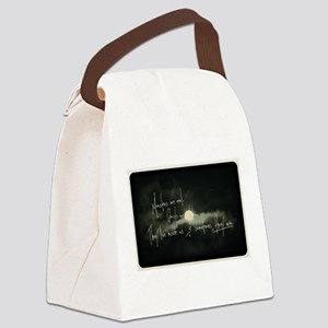 Monsters are real, ghosts are rea Canvas Lunch Bag