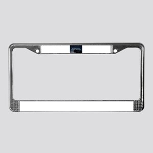 but without the dark, we'd nev License Plate Frame